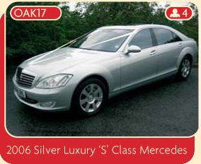 2006 Silver Luxury S Class Mercedes